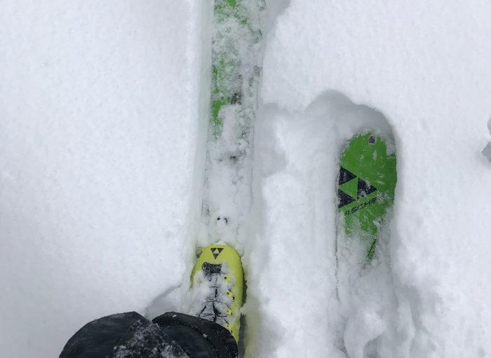 Positive Schneekontrolle – Originalstrecke für den Glemmermoasta