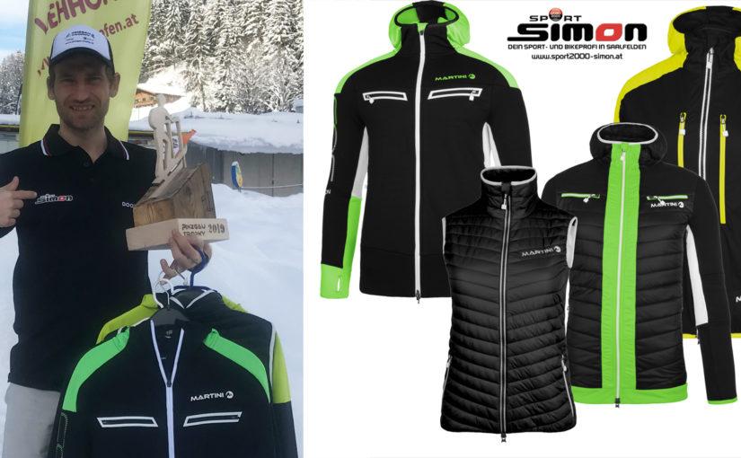 Sport Simon Preise für die Hobby-/Mittelzeitwertung der Team-Staffel am Freitag